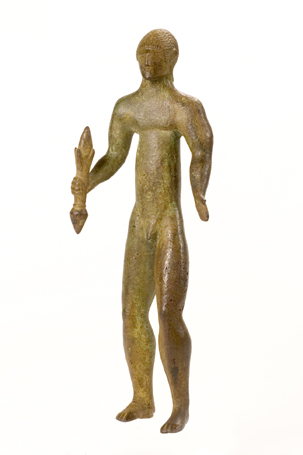 Bronzetto raffigurante Zeus