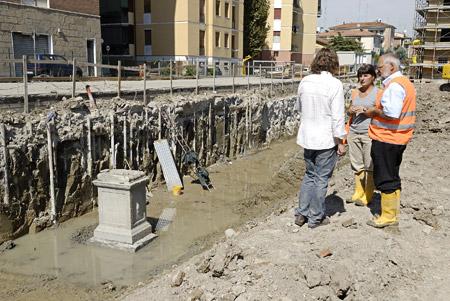 Ara funeraria Modena. Cantiere 02