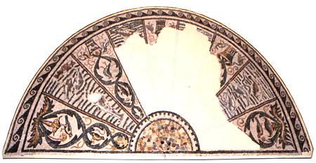 Mosaico di Meldola (semiluna)