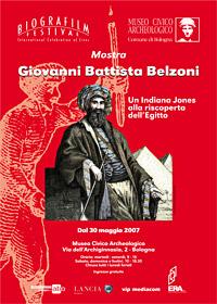 Giovanni Battista Belzoni. Mostra Bologna