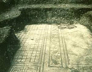 Gli scavi del 1933 a Claterna diretti da Salvatore Aurigemma (Archivio Fotografico SBAER)