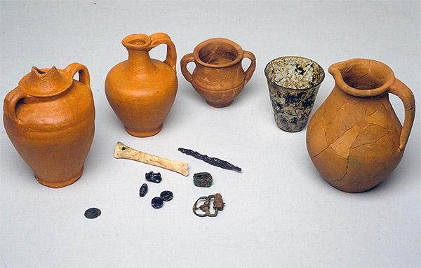 Lovere. La necropoli di età romana di via Martinoli